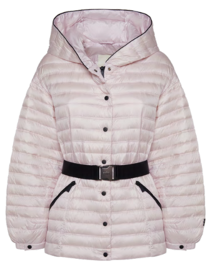5AW223 WOMAN HOODED DOWN JACKET