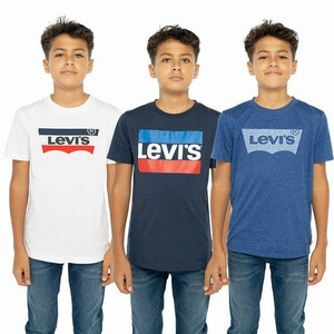 Levi's Youth 3-pack Tee, Navy