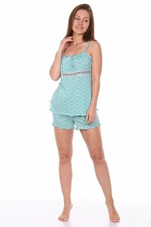 Домашняя пижама № 2 ментол