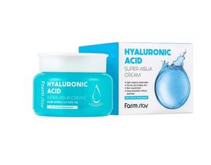 ФМС Крем суперувлажняющий с гиалуроновой кислотой 100мл, FarmStay Hyaluronic Acid Super Aqua Cream