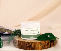 СКХ Крем для лица с коллагеном и экстрактом зеленого чая GreenTea Collagen Cream 50ml