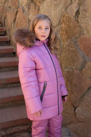 Детский Зимний Костюм Frosty Style расцветка Пион