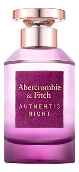 ABERCROMBIE & FITCH AUTHENTIC NIGHT FEMME lady 100ml edp TESTER