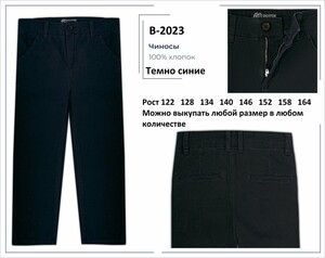 B2023 Чиносы - без рядов!