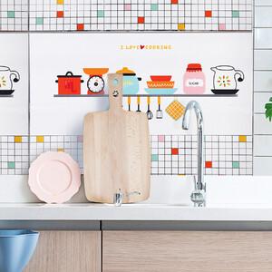 Наклейка жироотталкивающая над плитой Кухня 60*90 см (1113)