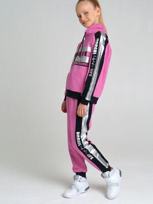 22127027 Комплект трикотажный для девочек: толстовка, брюки