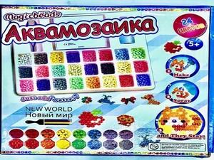 Аквамозаика, 24 цвета.