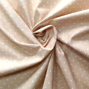 Ткань на отрез бязь плательная 150 см 1590/5 цвет бежевый