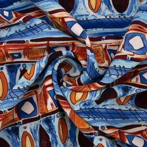 Ткань на отрез барби Мозаика