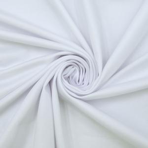 Ткань на отрез бифлекс цвет белый