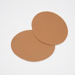 Заплатка под кожу коричневый упаковка 2шт 14,5*11см