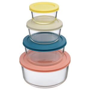 Набор контейнеров для запекания и хранения Smart Solutions, 4 шт. JV501RD