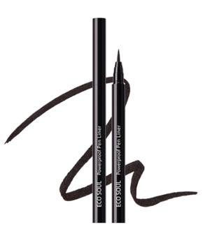 СМ EYE Подводка для глаз Eco Soul Powerproof Pen Liner 01 Black