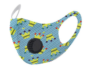 Детская защитная маска с  клапаном F9186