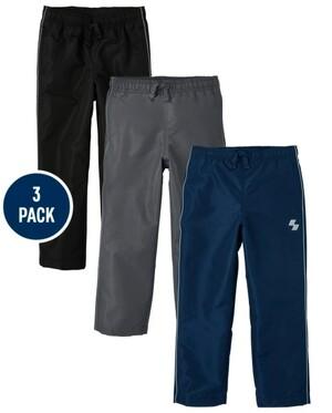 Boys Wind Pants 3-Pack (арт. 3024275_BQ)