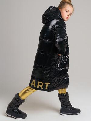 32021203 Пальто текстильное для девочек