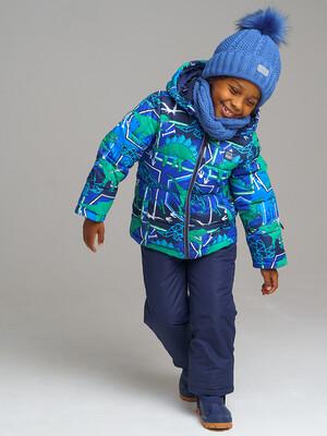 32012033 Комплект текстильный для мальчиков: куртка, полукомбинезон