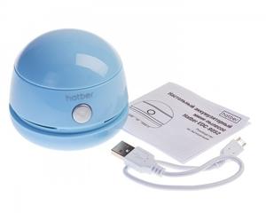 МиниПылесос настольный Hatber аккумуляторный в картонной коробке