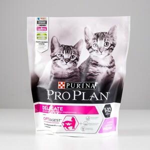 Сухой корм PRO PLAN для котят с чувствительным пищеварением, индейка, 400 г