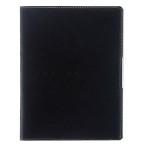 Дневник универсальный для 1-11 классов METROPOL, интегральная обложка, искусственная кожа, тонированный блок 70 г/м2, 48 листов, черный