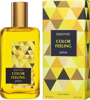 Brocard  Сolor Feeling. Yellow fw EDT 100мл