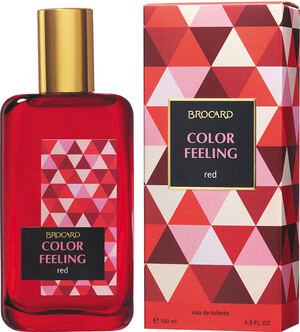Brocard  Сolor Feeling. Red fw EDT 100мл