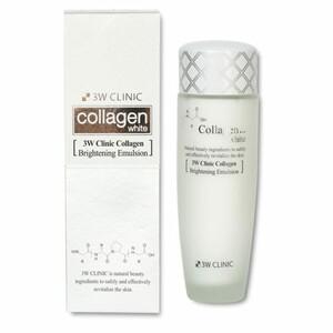 3W CLINIC ОСВЕТЛЕНИЕ/Эмульсия для лица Collagen Whitening Brightening Emulsion, 150 мл