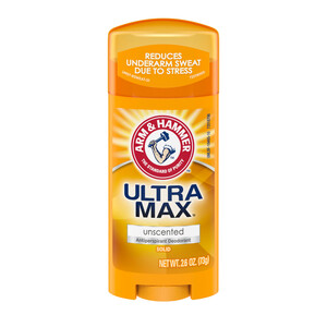 ARM & HAMMER ULTRA MAX Solid Antiperspirant Deodorant, Unscented, 73 гр