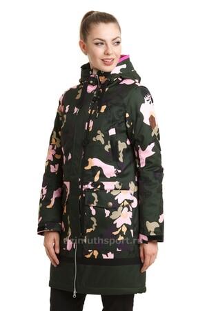 Женская куртка-парка Azimuth B 8472_77 Хаки Зеленый