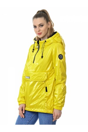Женская куртка-анорак Grace Snow 5002_008 Желтый