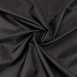 Ткань на отрез таффета 150 см 190Т цвет черный