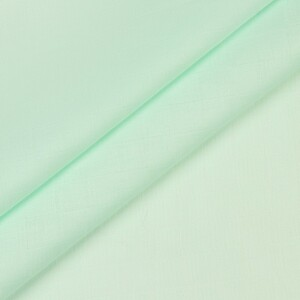 Ткань на отрез муслин гладкокрашеный 135 см 23048 цвет мята