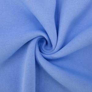 Ткань на отрез футер 3-х нитка компакт пенье начес цвет голубой