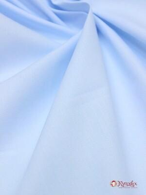 Перкаль Премиум цв.Светло-голубой, ш.1,55м, хлопок-100%, 115гр/м.кв