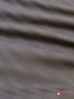 БРАК (цена снижена) Сатин-страйп цв.Мокрый асфальт (1см*1см), ш. 2.2 м, хл-100%, 135 гр/м.кв