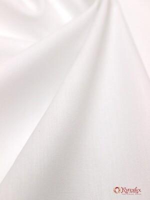 Перкаль Премиум цв. Белый (оптически отбеленный), ш.1,5м,  хлопок-100%, 115гр/м.кв