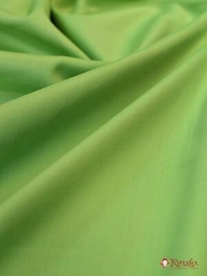 Сатин цв.Зеленое яблоко, ш.2.2м, хлопок-100%, 135гр/м.кв