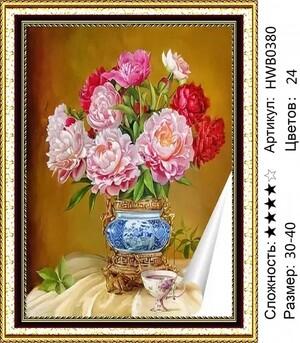 HWB0380 Мозаика круглая 30х40