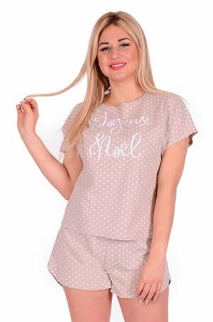 Неженка, Женская пижама в горошек