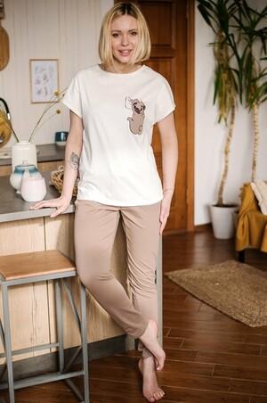 Неженка, Очаровательная женская пижама с мопсом