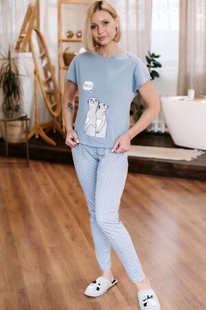 Неженка, Нежная женская пижама в пастельных тонах