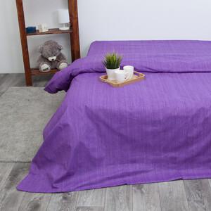 Пододеяльник из перкаля 2049310 Эко 10 фиолетовый, 1,5 спальный