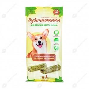 Зубочистики Косточка Авокадо (2шт) д/собак средних пород, 35гр