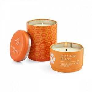 Набор из трех ароматических свечей в алюмин.банке Пушистые друзья