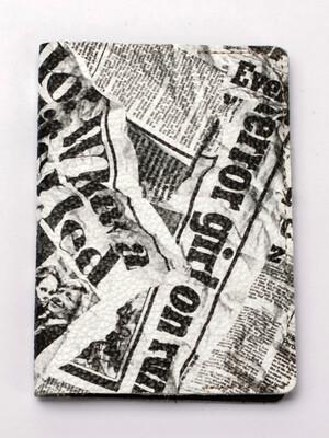 Обложка на паспорт 2 Арт.7144 с карманом