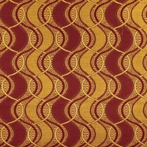 Ткань на отрез гобелен 150 см 112-3 цвет бордо