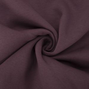 Ткань на отрез футер 3-х нитка компакт пенье начес цвет темно-лиловый