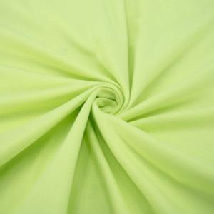 Ткань на отрез кулирка М-2017 цвет солнечный лайм