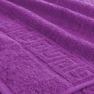 Полотенце махровое Туркменистан 40/70 см цвет фиолетовый