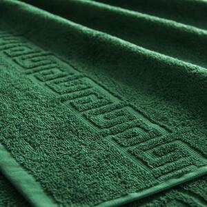 Полотенце махровое Туркменистан 50/90 см цвет темно-зеленый VIRIDIS